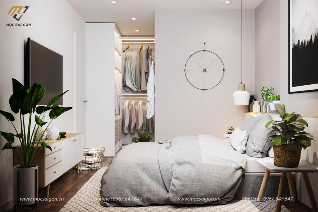 Nội thất chung cư thiết kế 3 phòng ngủ