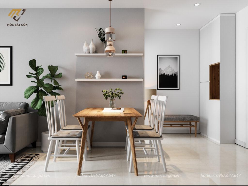 Thiết kế phòng ăn nội thất chung cư