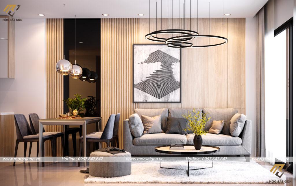 Thiết kế nội thất chung cư lavida plus