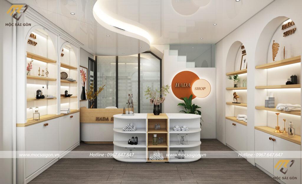 Thiết kế shop cửa hàng tại quận 1