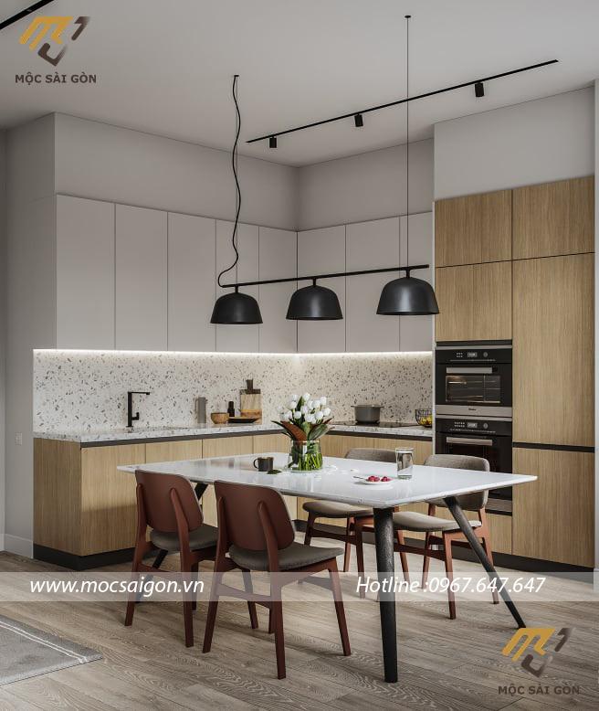 Tủ bếp tại bạc liêu