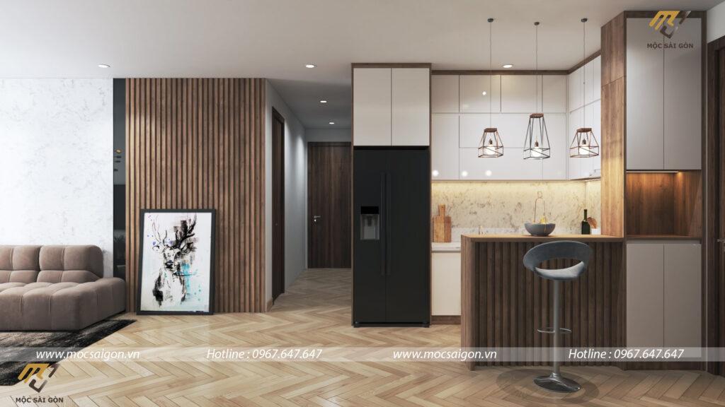 Thiết kế nội thất chung cư Ascent Lakeside